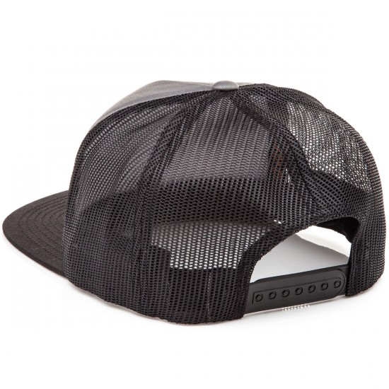 Santa Cruz Screaming Hand Trucker Mesh Hat - Carbon/Black