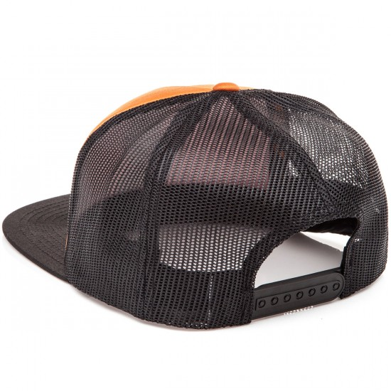 Santa Cruz Screaming Hand Trucker Mesh Hat - Hazard Orge/Black