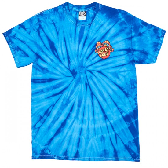 Santa Cruz Shroom Dot T-Shirt - Spider Royal