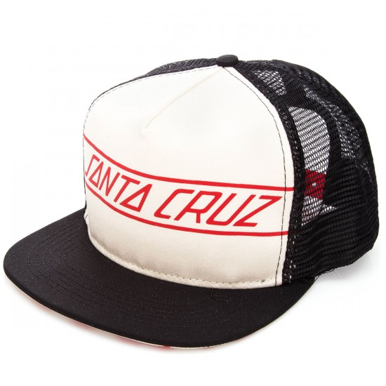 Santa Cruz Spinner Trucker Hat - Natural/Black