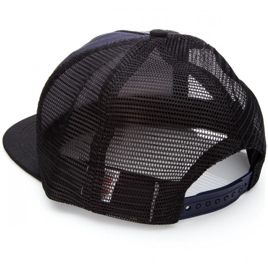 Santa Cruz Spinner Trucker Hat - Navy/Black
