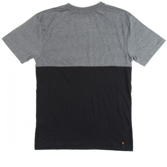Santa Cruz Splice T-Shirt - Black/Carbon Melange