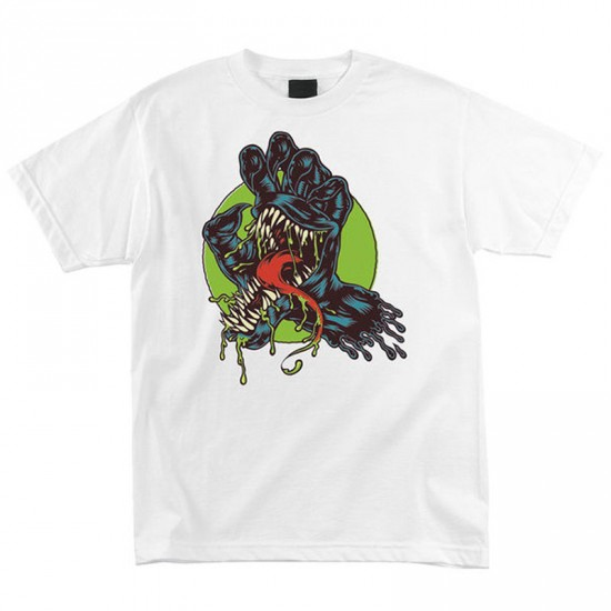 Santa Cruz x Marvel Venom Hand Youth T-Shirt - White