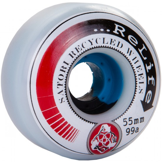 Satori ReLife Series Post Consumer Recycled Skateboard Wheels - 55mm - 99a