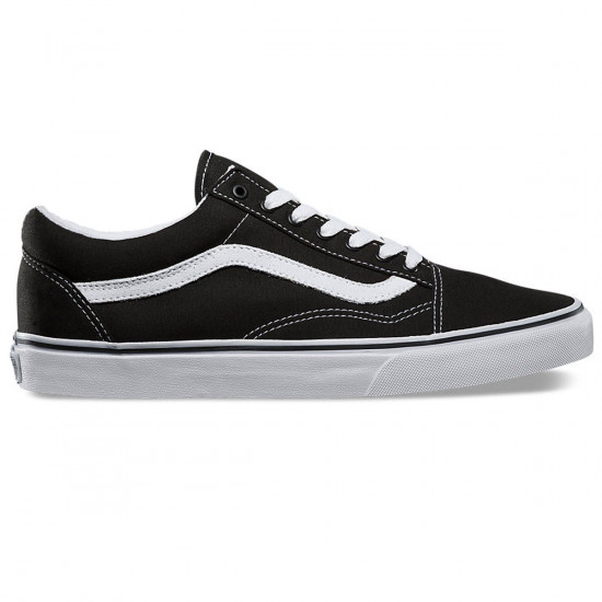 ffde63d092 Vans Old Skool Core Classic Shoes - Black White - 8.5
