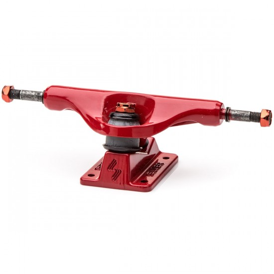 Silver M-Class Spectrum Red Skateboard Trucks