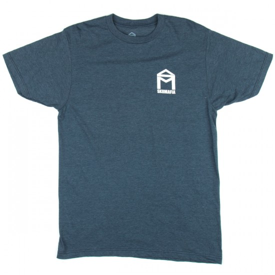 Sk8 Mafia House Logo Premium T-Shirt - Navy Heather