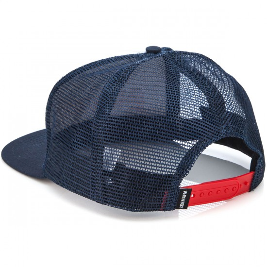 Sk8 Mafia Old E Trucker Hat - Navy