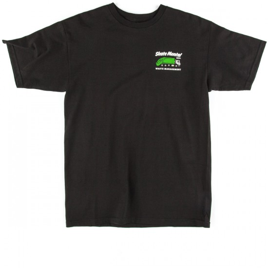 Skate Mental Waste Management T-Shirt - Black