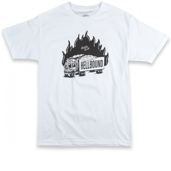 Sketchy Tank Hellbound T-Shirt - White