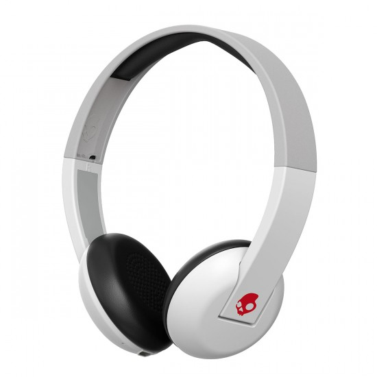 Skullcandy Uproar Wireless Headphones - White/Grey/Red