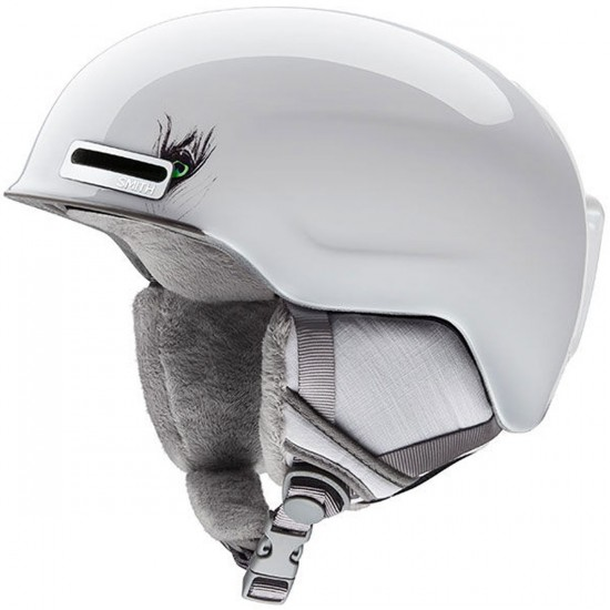Smith Allure Snowboard Helmet - White Feathers