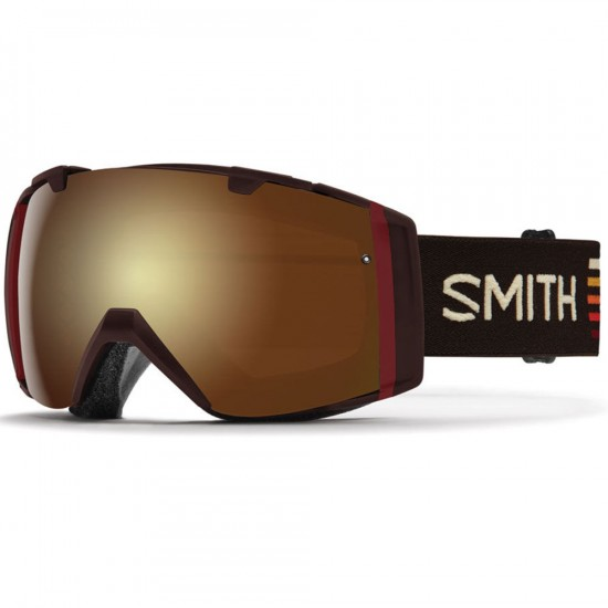 Smith I/O Snowboard Goggles - Morel Sunset With Gold Sol-X Mirror