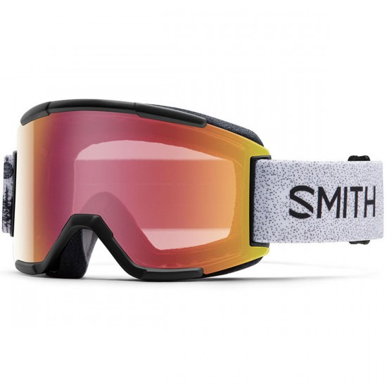 Smith Squad Snowboard Goggles - Desiree Padfoot with Red Sensor Mirror