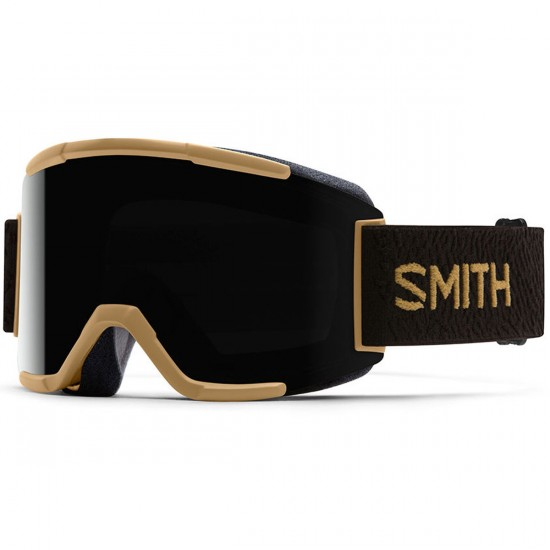 Smith Squad Snowboard Goggles - Prairie Machine with Blackout