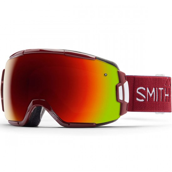 Smith Vice Snowboard Goggles - Adventure II with Red Sol X Mirror