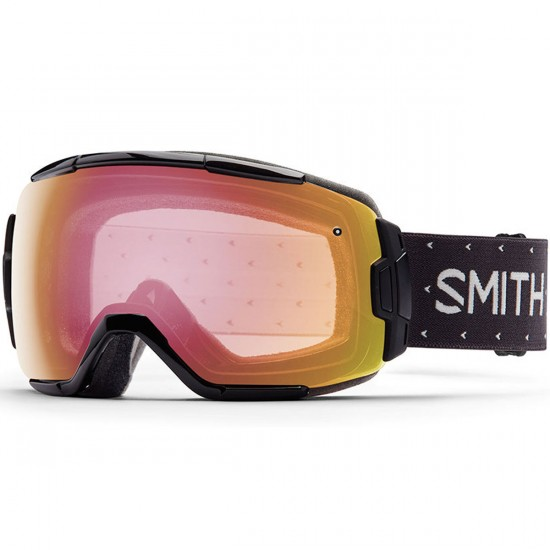 Smith Vice Snowboard Goggles - Austin Hand Knit with Red Sensor Mirror