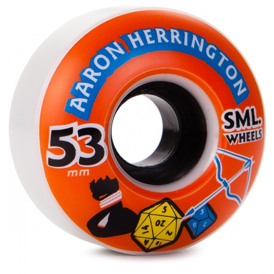 SML Aaron Herrington D N D Skateboard Wheels - OG Wide - 53mm