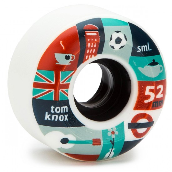 SML Ariel Wilson X Tom Knox Skateboard Wheels - V Cut - 52mm