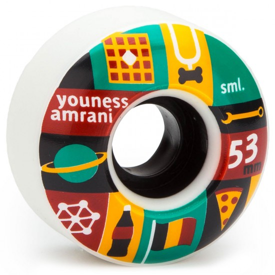SML Ariel Wilson X Youness Amrani Skateboard Wheels - OG Wide - 53mm