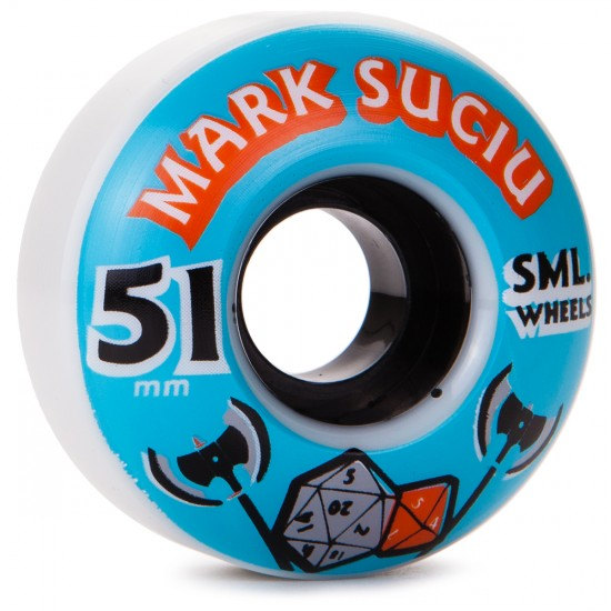 SML Mark Suciu D N D Skateboard Wheels - OG - 51mm