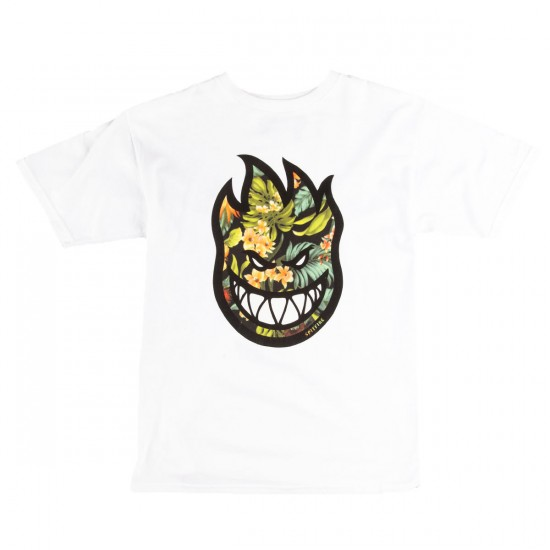 Spitfire Bighead Hawaiin Fill T-Shirt - White