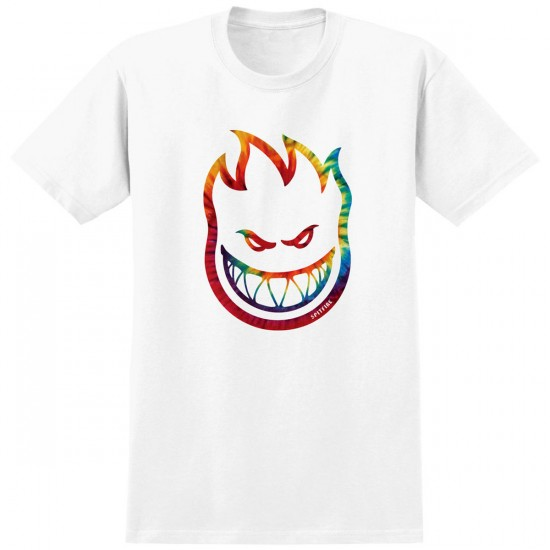 Spitfire Bighead Trip Youth T-Shirt - White