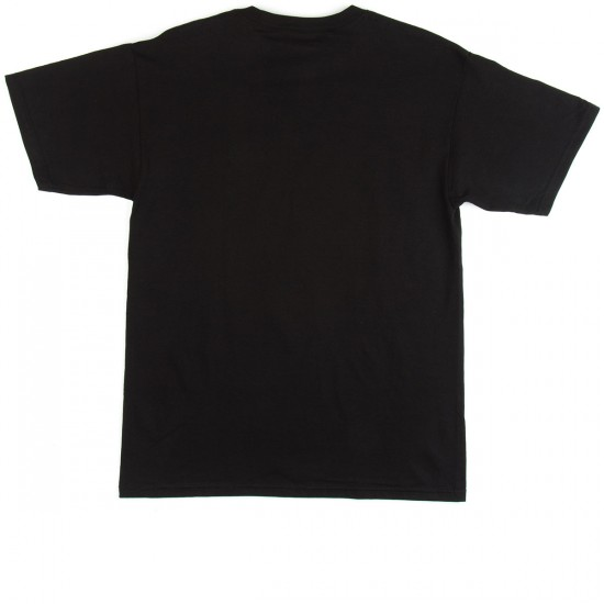 Spitfire Bolts Glow T-Shirt - Black