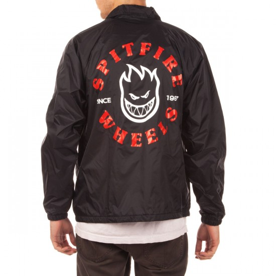 Spitfire Classic Bighead Coaches Jacket - Black