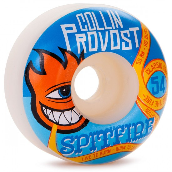 Spitfire Collin Provost 'Sect Bighead Skateboard Wheels - 54mm