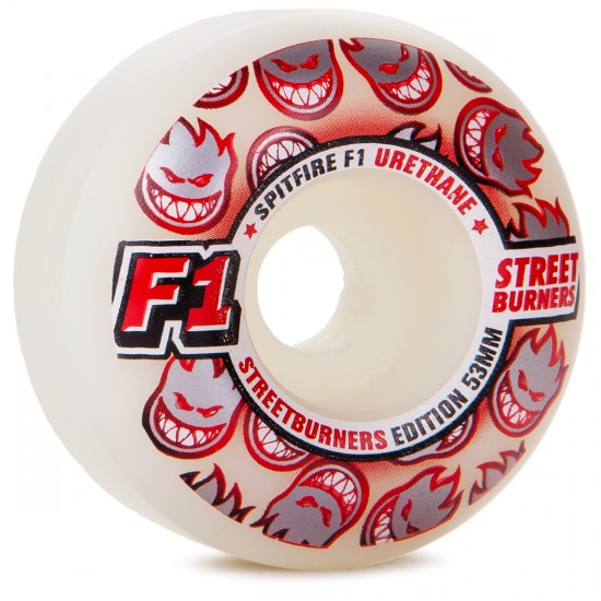 Spitfire F1 Street Burner Skateboard Wheels - 53mm