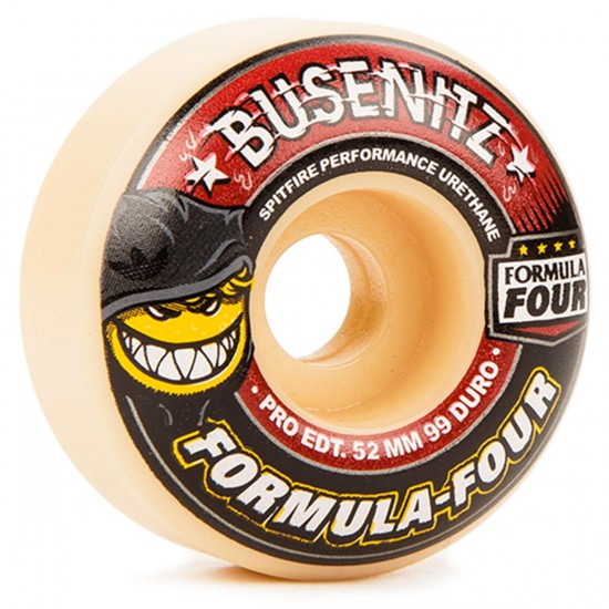 Spitfire Formula Four 99a Busenitz Skateboard Wheels - 52mm