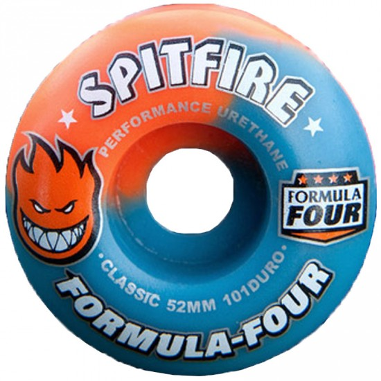 Spitfire Formula Four Acid Punch 50/50 Swirl Skateboard Wheels - 52mm