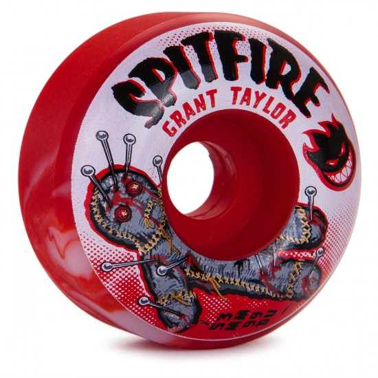 Spitfire Grant Taylor Pin Cushion Skateboard Wheels - 53mm - Swirl