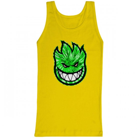 Spitfire Sparked 2 Tank Top - Yellow