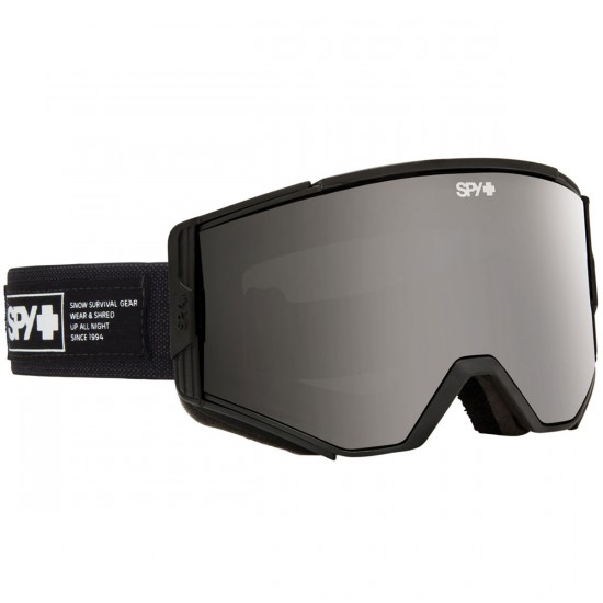 Spy Ace Snowboard Goggles - Nocturnal/Gray With Black Mirror and Persimmon
