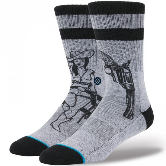Stance Bushleague Socks - Grey