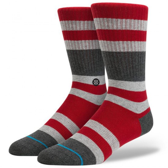 Stance Charges Socks - Red
