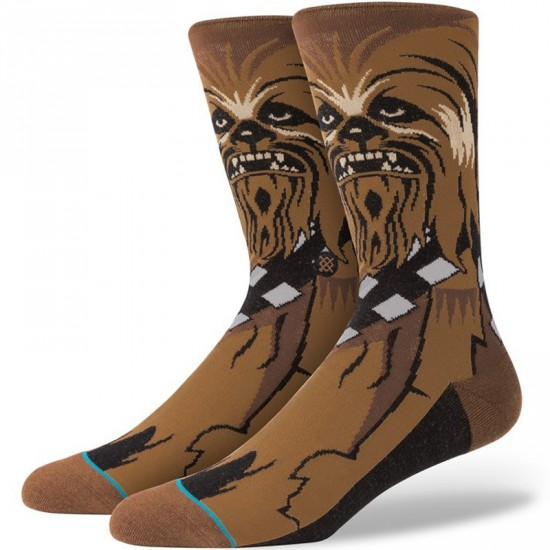 Stance Chewie Socks - Brown
