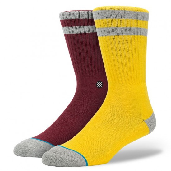 Stance Cosby Socks - Yellow