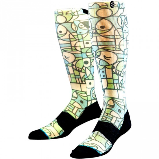 Stance Don Pendelton Snow Socks- Green