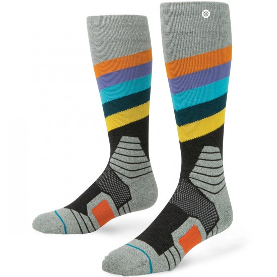 Stance Golden Veins Snowboard Socks - Black