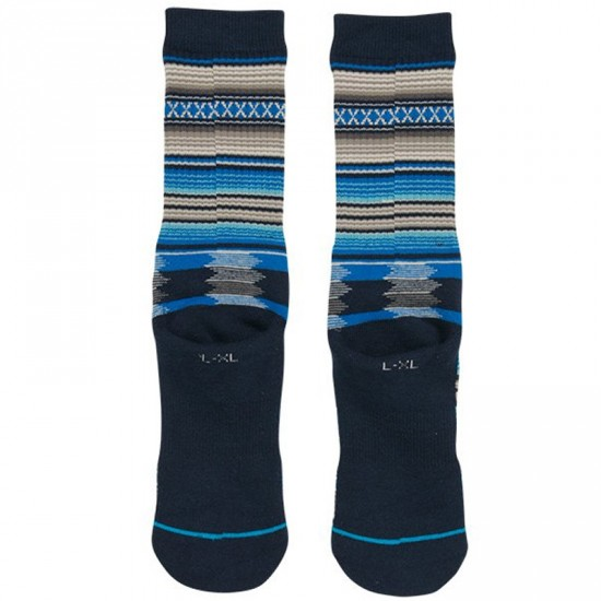 Stance Guadalupe Socks - Navy