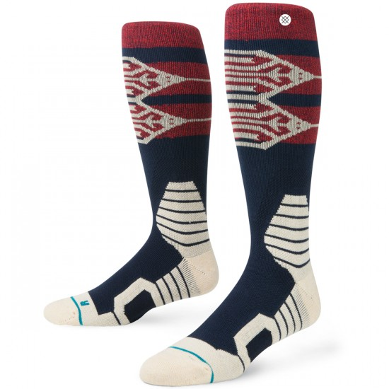 Stance Hive Snow Snowboard Socks - Navy