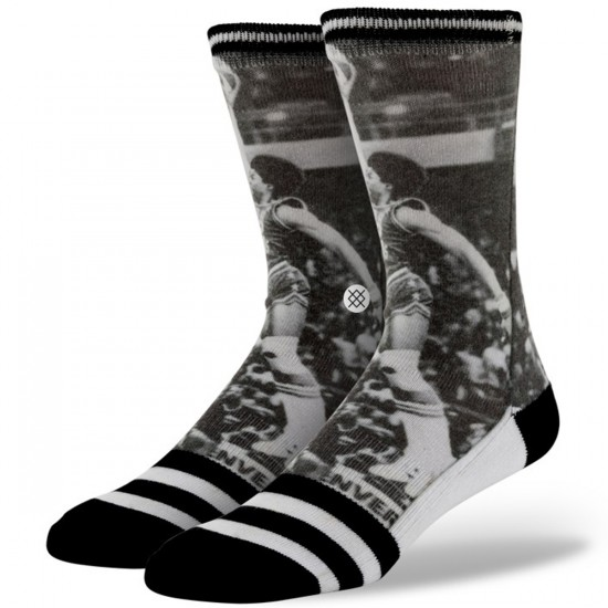 Stance Julius 'Dr. J' Erving Socks - Black