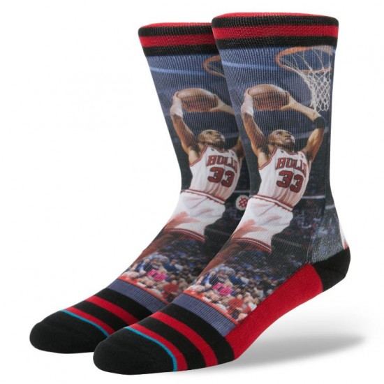 Stance Pippen Socks - Red