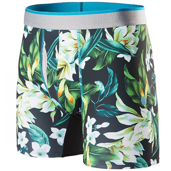 Stance The Basilone Flora Boxer Brief - Black