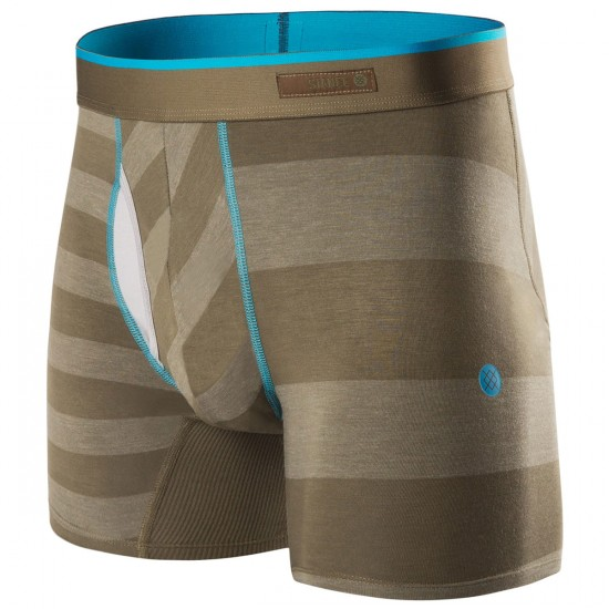 Stance The Basilone Mariner Boxer Brief - Olive