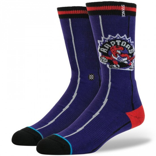Stance Toronto Raptors Socks - Purple