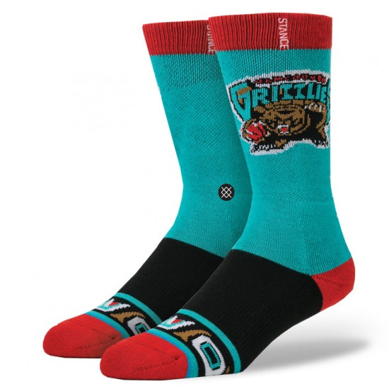 Stance Vancover Grizzlies Socks - Teal